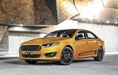 Wallpapers Ford Falcon XR8 limited edition Sprint gold Cars