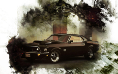 Ford Mustang Boss 429 Wallpapers
