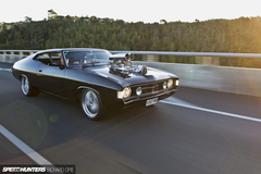 Judge Jury Executioner A Blown Big Block Falcon Hardtop