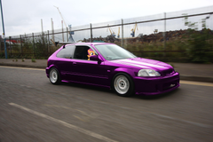 Scootaloo driving her Honda Civic EK9 Type R by BronyNo786 on