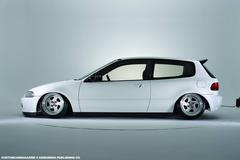 New Honda Civic Hatchback Wallpapers White