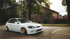 Honda civic hatchback wallpapers hd Original Size