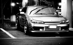 Cars monochrome nissan silvia s15 jdm wallpapers
