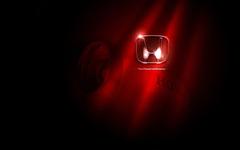 Honda Logo Car Brands Red Effect Black Wallpap Wallpapers