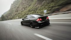 honda civic low stance nation HD wallpapers