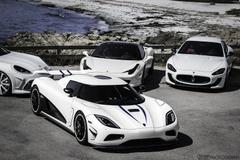agera r Koenigsegg Supercar supercars white bianco blanc