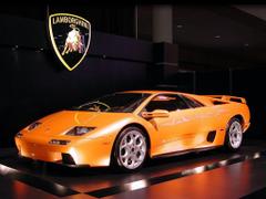 Lamborghini Diablo and Nicole Scherzinger