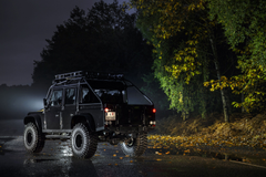 Land Rover Defender 110 007 Spectre cars 4x4 black movies 2015