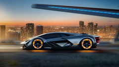 Lamborghini Terzo Millennio EV Supercar 4K 3 Wallpapers