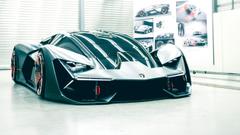 Wallpapers Lamborghini Terzo Millennio Sports car Electric cars HD