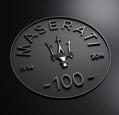 Maserati Centennial Logo wallpapers
