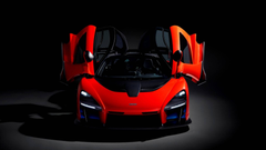 McLaren Senna Spotted In The Metal Looks Absolutely Devilish