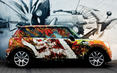 Cars Personable Imagery Cars HD Hits Image Colorful Mini Cooper