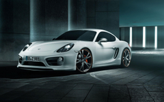 Porsche Cayman by Techart Wallpapers