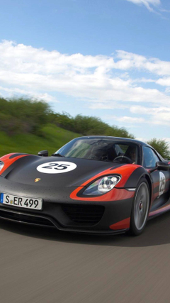 Give Your Desktop Or Mobile A Spruce WIth These Sexy Porsche 918