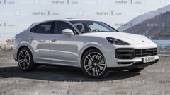 Porsche Cayenne Coupe Rendered To Fight BMW X6 UPDATE