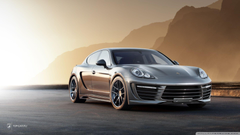 Porsche Panamera Stingray GTR HD desktop wallpapers Widescreen