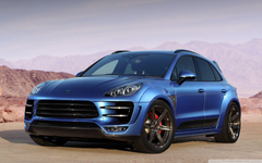 Porsche Macan URSA 4K HD Desktop Wallpapers for 4K Ultra HD TV