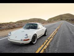 White Singer Porsche 911 wallpapers
