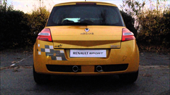 Silencieux Tube Megane 2 RS R26 Renault Sport Exhaust R25 Luxe
