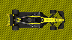 Quick edit of Renault R S 19 for a wallpapers