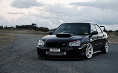 Black Subaru Impreza WRX STI Sport Cars Wallpapers