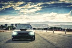 wallpapers subaru impreza Car cars desktop