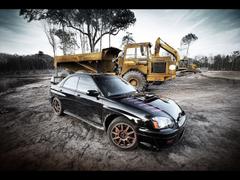 Subaru Impreza WRX STi Photography by Webb Bland