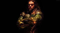Justice League Superhero Aquaman Jason Momoa Wallpapers and