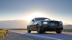 Rolls Royce Wraith Black Badge 4K Wallpapers