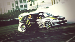 Ken Block Subaru Monster Energy Gymkhana Car Wallpapers Photos