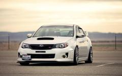 Subaru Impreza WRX STI Large Parking California Plate HD Wallpapers
