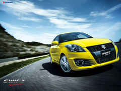 Suzuki Swift Sport wallpapers With a blistering new design powerful