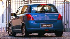 Suzuki Swift Sport Blue Car Back Shoot Wallpapers