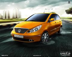 Tata New Indica Vista Desktop Wallpapers