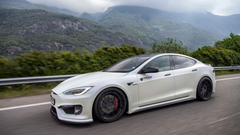 Tesla Model S Gets Aggressive Touch With Tuner s Aero Kit