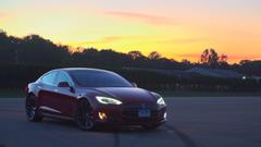 Tesla Model S P85D Earns Top Road Test Score