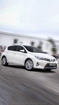Toyota Auris iPhone 6 6 plus wallpapers