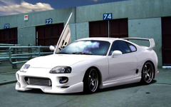 Supra Sports Car Wallpapers and Resources