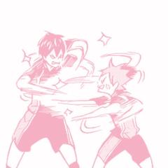 haikyuu pink manga