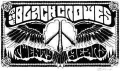 Black Crowes Rolling Papers Art in icartfans