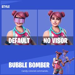 Bubble Bomber Fortnite wallpapers