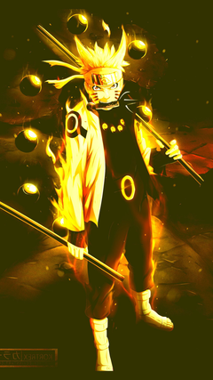 Naruto Six Paths Sage Mode Wallpapers posted by Ethan Cunningham