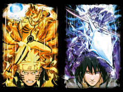 Naruto And Sasuke Sage Of Six Paths posted by John Johnson