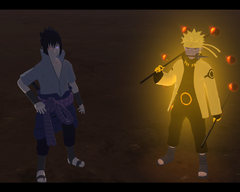 Six Paths Naruto and Rinnegan Sasuke wallpapersafari