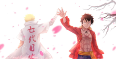 Naruto And Luffy Wallpapers