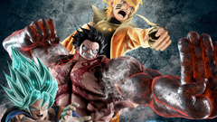 Drqgon Bqll Naruto And One Piece Wall Paper Wallpapers