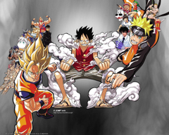 Son Goku Naruto Luffy Dragon Ball Z Wallpapers