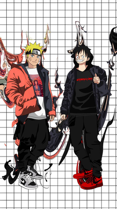 Naruto x Luffy wallpapers by cchigod zedge
