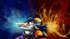 Fighting Uchiha Sasuke Naruto Shippuden Uzumaki Naruto